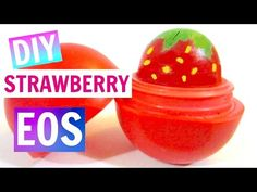 Strawberry EOS | DIY EOS Lip Balm - YouTube