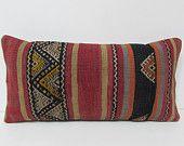 kilim pillow retro fabric lumbar pillow floral pillow cover decorative pillowcase throw pillow couch turkish pillow case coral pillows 26018