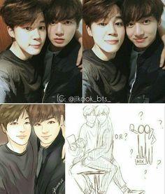Jikook Park Jimin Jimin Jeon Jung-kook Jungkook BTS