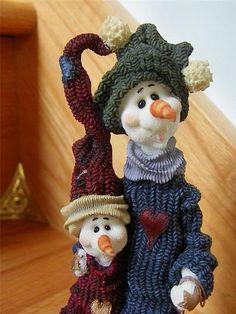 *Flake & Melton (Boyds Snowmen)