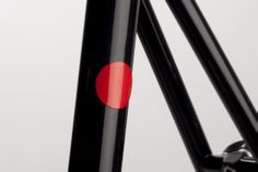 Red Magnetic Reflector on Abici Fuga fixie