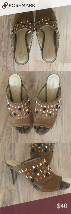 "Antonio Melani Shoes Antonio Melani Shoes - New without Tags. Heel is 3.5"". ANTONIO MELANI Shoes"