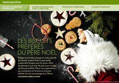 Les biscuits préférés du père Noël - La Presse+ Biscuits, Christmas Recipes, Muffins, Cupcakes, Cookies, Desserts, Happy New Years Eve, Swan, Merry Christmas Love