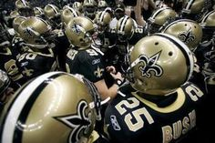 Who dat said they gonna beat them saints. Who dat!! The answer is no one.