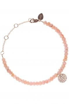 rose gold bracelet with pink opals and diamonds I designed for NEW ONE I NEWONE-SHOP.COM
