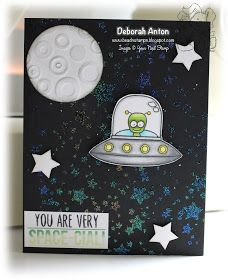 Your Next Stamp: Blast Off stamp set and Large Star Splatter Background stamp Outer Space, Cardmaking, December, Valentines, Paper, Projects, Blog, Cards, Stamps