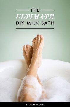 The Ultimate DIY Milk Bath! ❤️
