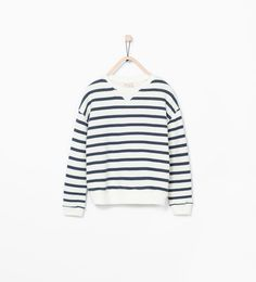 ZARA - ENFANTS - Sweat à rayures