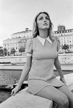 Sharon Tate in Paris, 1968, photo by Jean Claude Deutsch.