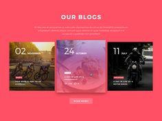 Brech - One Page Portfolio FREE Template