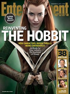 Evangeline Lilly on playing new 'Hobbit' elf Tauriel: 'I did have to hesitate and go, 'Whoa, people are going to hate me' | EW.com