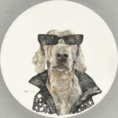 The Cool Dog Image Series by Zhao Na is Cleverly Cute trendhunter.com