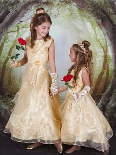 Beauty And The Beast Flower, Beauty And The Beast Wedding Dresses, Beauty And The Beast Theme, Wedding Dresses For Kids, Making A Wedding Dress, Wedding Bridesmaid Dresses, Wedding Beauty, Wedding Ideas, Wedding Goals