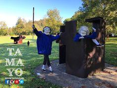 Qué día tan divertido estamos pasando con la cuadrilla de los caminantes de Joan Baixa en el concurso de pintura de #TamayoPapeleria #Donostia #SanSebastian en el museo #chillida-leku Aún estas a tiempo. Vienes?
