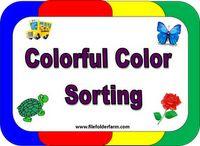 File Folder Farm -- file folder games  resource preschool color, file folder games