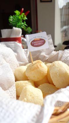 Pão de queijo Formaggio Mineiro, na Dolce Nero tem \o/ \o/