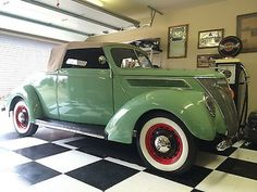 1937 Ford Cabriolet w/ Rumble Seat