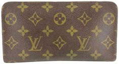 Get the trendiest Clutch of the season! The Louis Vuitton Zippy Wallet Monogram Long Zip Around 235770 Brown Coated Canvas Clutch is a top 10 member favorite on Tradesy. Louis Vuitton Clutch, Louis Vuitton Monogram, Retail, Hardware, Exterior, Smoke, France, Ship, Number