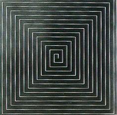 sadomillerchism:  Frank Stella, New Madrid 1961