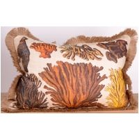 Rocky Coral Pillow