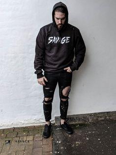 Savage Look Streetwear Hoodie