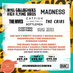 Y Not Festival's first announcement for 2016