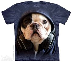 PRIKID - DJ Manny the Frenchie T-Shirt, 342kr (http://prikid.eu/dj-manny-the-frenchie-t-shirt/)