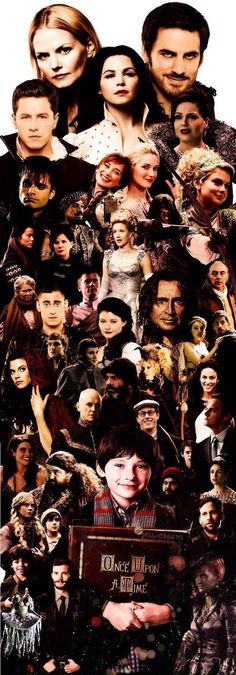 All of the #OnceUponATime characters! This would make an awesome bookmark!