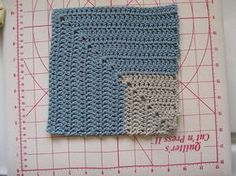 Ravelry: Project Gallery for Double crochet mitred squares pattern by pandatomic