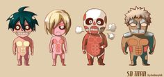 25 Attack on Titan Fan Arts in Various Styles | The Design Inspiration
