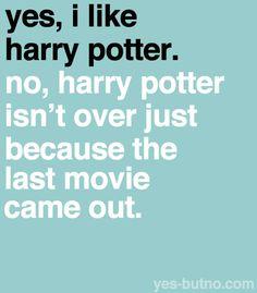 yes, i like harry potter.