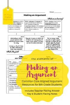 an analysis of elements of argument Stephen toulmin identified six elements of an argument: the claim, grounds, warrant, backing, qualifier and rebuttal.