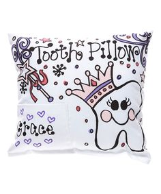 Princess Personalized Tooth Pillow