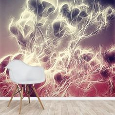 Stunning Light Monochrome Magnolia wall mural from Wallsauce. This high-quality wallpaper is custom made to your dimensions. Go Wallpaper, Peel And Stick Wallpaper, Magnolia Wallpaper, High Quality Wallpapers, Beautiful Living Rooms, Abstract Watercolor, Designer Wallpaper, Wall Murals, Monochrome