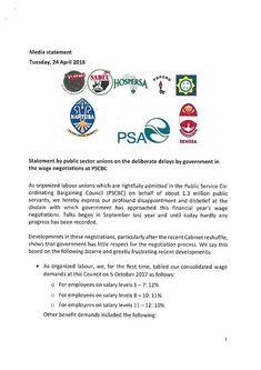 PSCBC | Public Service Co-ordinating Bargaining Council Sl 1, Collective Bargaining, Labor Union, Public Service, Civil Service
