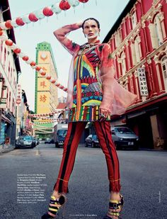 Elle Índia June 2014 | Rebecca Brown by Caleb & Gladys