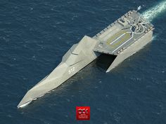 Littoral Combat Ship Concept on Industrial Design Served