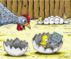 Pinterest even addicts eggs..
