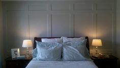 panelling in bedroom