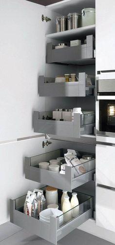 New kitchen pantry ideas cabinets Ideas Kitchen Room Design, Modern Kitchen Design, Home Decor Kitchen, Interior Design Kitchen, New Kitchen, Home Kitchens, Kitchen Pantry, Awesome Kitchen, Luxury Kitchens
