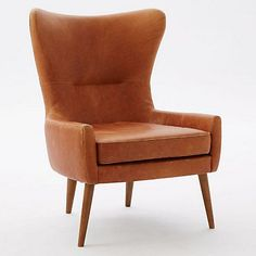 West Elm offers modern furniture and home decor featuring inspiring designs and colors. Create a stylish space with home accessories from West Elm. West Elm, Oversized Furniture, Oversized Chair, Teal Accent Chair, Mid Century Armchair, Old Chairs, Dining Chairs, White Chairs, Dining Table
