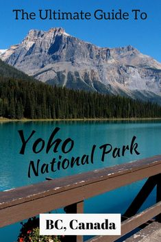 Going to Canada? Put Yoho National Park on your list of places to visit in Canada. Everything you need to know about Yoho National Park in Canada – the best hiking trails, where to stay and tips from an expert! Banff National Park Canada, Yoho National Park, Jasper National Park, Backpacking Canada, Canada Travel, Hiking Europe, Vancouver, Alberta Canada, West Coast Usa