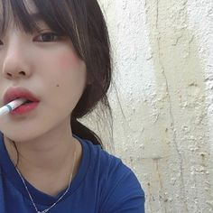 I love sad girls Ulzzang Korean Girl, Cute Korean Girl, Women Smoking, Girl Smoking, Asian Woman, Asian Girl, Cigarette Girl, Uzzlang Girl, Pretty Asian