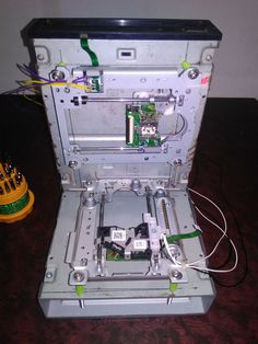 printer design printer projects printer diy Electronic Electronic How to Make Arduino Based Mini CNC Machine a Complete Tutorial you can f. Arduino Cnc, Diy Cnc Router, Hobby Electronics, Electronics Projects, Homemade Cnc, Cnc Maschine, Cardboard Model, Hobby Cnc, Cnc Software