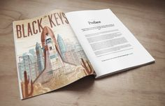 Magazine Mock-Up PSD Freebie by Eduardo Mejia, via Behance