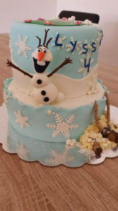 Gâteau La Reine des Neiges Cake Frozen