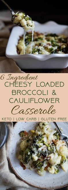 Serena C saved to FOOOOOD Cheesy Loaded Broccoli Cauliflower Casserole - THE side dish that will make your family love vegetables - even picky eaters! Low carb, gluten/grain/sugar free and keto friendly too…More Easy Keto Diet Friendly Side Dish Recipes Fodmap Recipes, Healthy Recipes, Healthy Snacks, Diet Recipes, Healthy Eats, Casseroles Healthy, Savoury Recipes, Ketogenic Recipes, Delicious Recipes