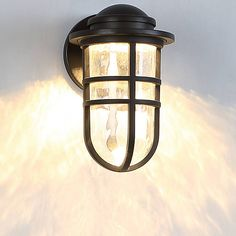 Steampunk Outdoor LED Wall Sconce by @waclighting at Lumens.com