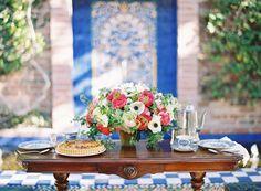 Colorful Bohemian Garden Wedding Inspiration from Jen Huang