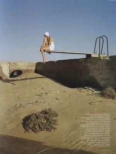 Empty Pool | Tim Walker